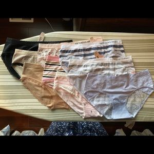 Victoria's Secret panties - set of 9